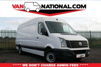 USED 2015 65 VOLKSWAGEN CRAFTER 2.0 CR35 TDI H/R P/V 108 BHP LONG WHEELBASE * ONE OWNER * READY TO DRIVE AWAY TODAY * NO ADMIN FEES *