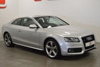 USED 2010 60 AUDI A5 3.0 TDI QUATTRO S LINE SPECIAL EDITION 2d 240 BHP 19 INCH ALLOYS + LEATHER + QUATTRO + HISTORY + 2 KEYS