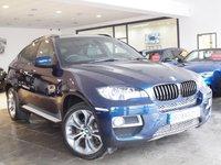 USED 2013 63 BMW X6 3.0 XDRIVE30D 4d AUTO 241 BHP 5 SEATS+SAT NAV+REV-CAM+FSH