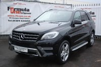USED 2015 65 MERCEDES-BENZ M CLASS 3.0 ML350 CDI BlueTEC AMG Line (Premium Plus) 7G-Tronic Plus 4MATIC 5dr 1 OWNER+PAN ROOF+MASSIVE SPEC
