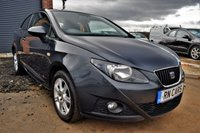 2012 SEAT IBIZA 1.2 S COPA 3DR 68 BHP £3950.00