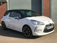 USED 2013 63 CITROEN DS3  E-HDi Airdream Dsport Plus 3dr 1.6 LOW MILEAGE, HPI CLEAR