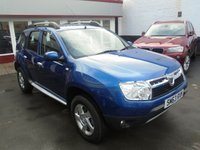USED 2014 63 DACIA DUSTER 1.5 LAUREATE DCI 4WD 5d 109 BHP Retail price £7495,with £500 minimum part exchange allowance,balance price £6995.