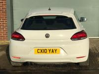USED 2010 10 VOLKSWAGEN SCIROCCO Tsi 1.4 3dr HPI CLEAR,WARRANTY INCLUDED