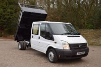 USED 2014 14 FORD TRANSIT 2.2 350 DRW 4d 99 BHP