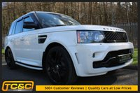 "USED 2009 59 LAND ROVER RANGE ROVER SPORT 3.0 TDV6 HSE 5d 245 BHP OVERFINCH STYLE BODYKIT WITH 22"" WHEELS, FULL HISTORY INC TIMING BELT!!!"
