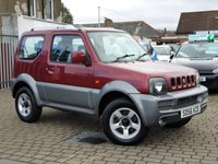 USED 2006 56 SUZUKI JIMNY 1.3 JLX PLUS 3d 83 BHP PLEASE CALL IF YOU CANT SEE WHAT YOU ARE AFTER . WE WILL CHECK OUR OTHER BRANCHES FOR YOU . WE HAVE OVER 100 CARS IN GROUP STOCK