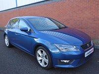 USED 2013 63 SEAT LEON 2.0 TDI FR 5d 150 BHP