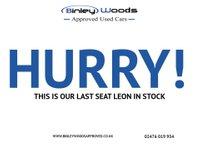 USED 2017 67 SEAT LEON 2.0 TSI CUPRA 5d 297 BHP DUE IN NEXT WEEK