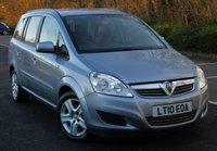 2010 VAUXHALL ZAFIRA 1.6 EXCLUSIV 5d 113 BHP £3695.00