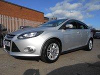 2013 FORD FOCUS 1.6 TITANIUM 5d AUTO 124 BHP £6995.00