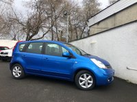 2007 NISSAN NOTE 1.4 ACENTA 5d 88 BHP £2295.00