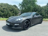 USED 2011 61 PORSCHE PANAMERA 3.0 D V6 TIPTRONIC 5d AUTO 250 BHP EXCELLENT CONDITION IN GRAPHITE GREY MET FULL BLACK HEATED LEATHER
