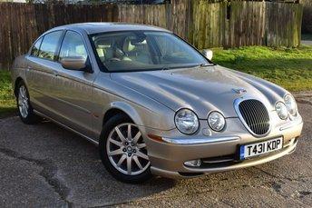 1999 JAGUAR S-TYPE 4.0 V8 4d AUTO 280 BHP £4000.00