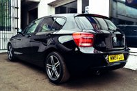 USED 2014 64 BMW 1 SERIES 2.0 116D SPORT 5d 114 BHP STUNNING BMW 1 SERIES SPORT IN BLACK