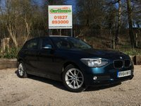 USED 2014 64 BMW 1 SERIES 2.0 118D SE 5dr £20 Tax, 1 Owner, FBMWSH