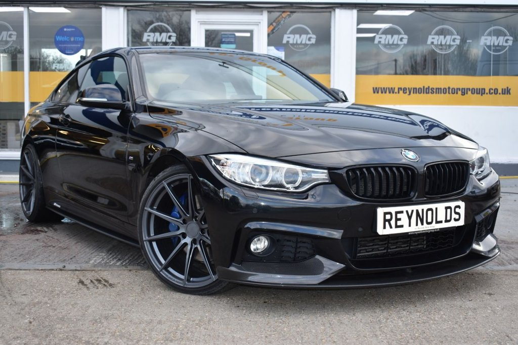 USED 2015 65 BMW 4 SERIES 2.0 420D XDRIVE M SPORT 2d AUTO 190 BHP NO DEPOSIT FINANCE AVAILABLE