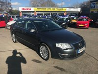 USED 2009 59 VOLKSWAGEN PASSAT 2.0 HIGHLINE TDI 4d 138 BHP IN GREAT CONDITION WITH HIGH MILES HENCE THE PRICE (TRADE CLEARANCE) APPROVED CARTS ARE PLEASED TO OFFER THIS VOLKSWAGEN PASSAT 2.0 HIGHLINE TDI 4d 138 BHP IN GREAT CONDITION WITH HIGH MILES THAT IS IN AMAZING CONDITION FOR ITS MILEAGE WITH LOTS OF SERVICE HISTORY AND AN MOT UNTIL APRIL 2019 BUT DUE TO ITS MILEAGE ONLY IS BEING OFFERED AS A TRADE CLEARANCE CAR WITH AN MOT.