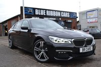 USED 2015 65 BMW 7 SERIES 3.0 730D M SPORT 4d AUTO 261 BHP SUNROOF, HEADS UP, SERVICE PACK + MORE