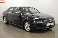 USED 2009 09 AUDI S4 3.0 T FSI QUATTRO 4d 330 BHP 11 SERVICES FROM NEW + SAT NAV + TWO TONE LEATHER + 19 INCH ALLOYS
