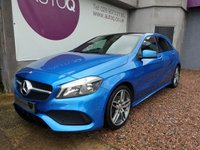 2016 MERCEDES-BENZ A CLASS 1.5 A 180 D AMG LINE EXECUTIVE 5d 107 BHP £15990.00