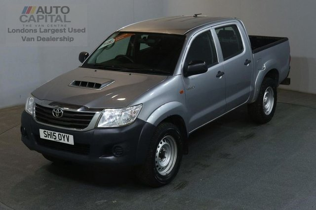 2015 15 TOYOTA HI-LUX 2.5 ACTIVE 4X4 D-4D DCB 142 BHP AIR CON PICK UP £9,990+VAT AIR CONDITIONING