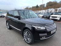 USED 2013 63 LAND ROVER RANGE ROVER 4.4 SDV8 VOGUE SE 5d AUTO 339 BHP Metallic Black, Cream leather, 22 inch alloys, opening panoramic sunroof ++
