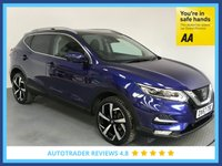 USED 2017 67 NISSAN QASHQAI 1.6 DCI TEKNA XTRONIC 5d AUTO 128 BHP EURO 6 - 1 OWNER - FULL SERVICE HISTORY - HALF LEATHER SEATS - PAN ROOF - DAB - PARKING SENSORS - USB