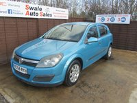 USED 2004 54 VAUXHALL ASTRA 1.7 LIFE CDTI 5d 80 BHP FINANCE AVAILABLE FROM £16 PER WEEK OVER TWO YEARS - SEE FINANCE LINK FOR DETAILS