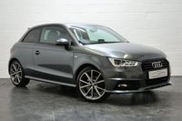 USED 2016 65 AUDI A1 1.6 TDI S LINE BLACK EDITION 3d 114 BHP 1 OWNER + AUDI HISTORY