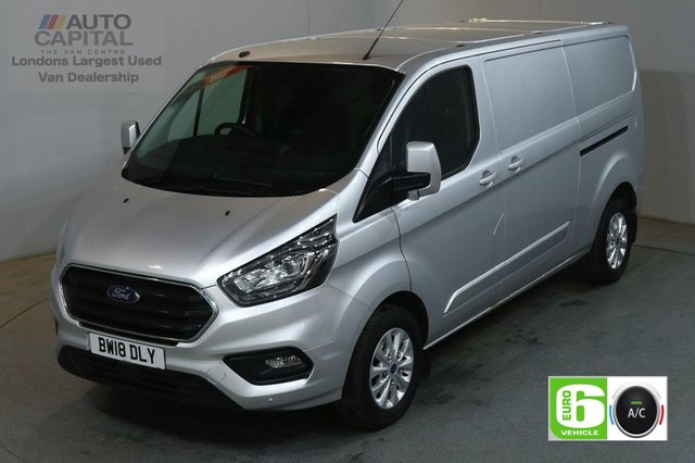 2018 18 FORD TRANSIT CUSTOM 2.0 300 LIMITED L2 H1 130 BHP LWB AIR CON EURO 6 VAN  AIR CONDITIONING EURO 6
