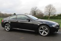 USED 2008 08 BMW 6 SERIES 3.0 635D SPORT 2d AUTO 282 BHP