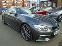 USED 2015 65 BMW 4 SERIES 2.0 420D M SPORT 2d AUTO 188 BHP 1 OWNER, HARMAN/KARDON