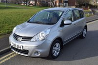 2009 NISSAN NOTE 1.4 ACENTA 5d 88 BHP £3999.00