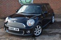 2010 MINI HATCH ONE 1.6 ONE 3d 98 BHP £4490.00