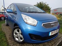 USED 2010 10 KIA VENGA 1.6 2 5d AUTO 124 BHP **Low Mileage Automatic Full Service History 6 Services 12 Months Mot**