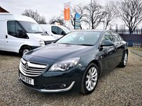 USED 2014 14 VAUXHALL INSIGNIA 2.0 ELITE NAV CDTI ECOFLEX S/S 5d 138 BHP TIMING BELT REPLACED @ 90,215 MILES