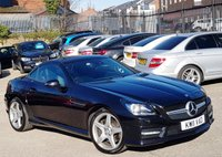 2011 MERCEDES-BENZ SLK 1.8 SLK200 BLUEEFFICIENCY AMG SPORT ED125 2d AUTO 184 BHP £9973.00