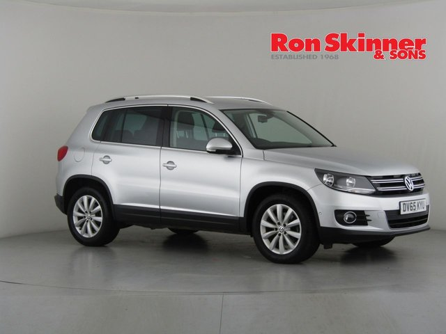 View our 2015 65 VOLKSWAGEN TIGUAN 2.0 MATCH TDI BLUEMOTION TECHNOLOGY 5d 148 BHP