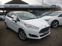 USED 2013 62 FORD FIESTA 1.6 ZETEC 5d AUTO 104 BHP NEED FINANCE? WE CAN HELP!