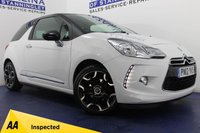 USED 2012 12 CITROEN DS3 1.6 DSTYLE PLUS 3d 120 BHP MEGA VALUE FOR MONEY - LOW MILES - BEAUTIFUL COLOUR COMBO - FULLY AA INSPECTED
