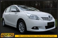 USED 2012 12 TOYOTA VERSO 2.0 TR D-4D 5d 125 BHP A STUNNING LOW OWNER 7 SEAT VERSO WITH FULL SERVICE HISTORY!!!