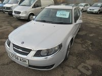2008 SAAB 9-5 1.9 TURBO EDITION TID 5d AUTO 150 BHP £2495.00