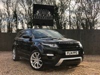 USED 2014 14 LAND ROVER RANGE ROVER EVOQUE 2.2 SD4 DYNAMIC 5dr AUTO 1 Year Parts & Labour Warranty