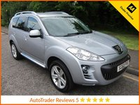 USED 2010 60 PEUGEOT 4007 2.2 GT HDI 5d 156 BHP Great Value Peugeot 4007 GT with Full Leather, Seven Seats,  Air Conditioning, Alloy Wheels and Service History