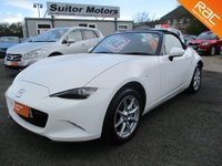 USED 2017 66 MAZDA MX-5 1.5 SE 2dr ONE OWNER, ONLY 12,000 MILES