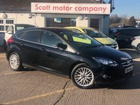2014 FORD FOCUS 1.0 Zetec 5 door