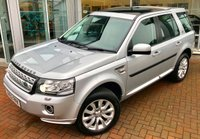 USED 2012 62 LAND ROVER FREELANDER 2 2.2 SD4 HSE LUXURY 5d AUTO 190 BHP