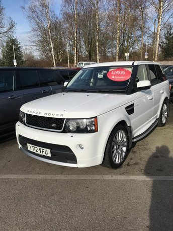 2012 LAND ROVER RANGE ROVER SPORT 3.0 SDV6 FACTORY FITTED AUTOBIOGRAPHY BODY KIT 5d AUTO 255 BHP