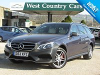 USED 2013 63 MERCEDES-BENZ E CLASS 3.0 E350 BLUETEC AMG SPORT 5d AUTO 249 BHP Only 2 Owners From New